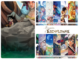 Memories of Escaflowne by drawingum