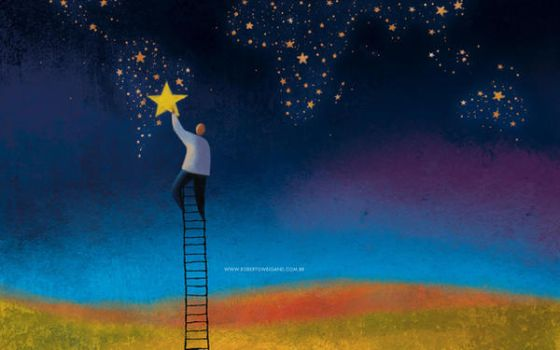 Ladder to the Stars - Wallpaper by roweig