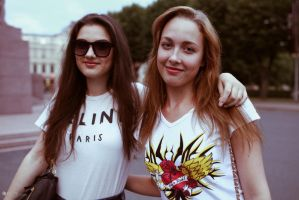 Girls in Riga by EL3-Imagery