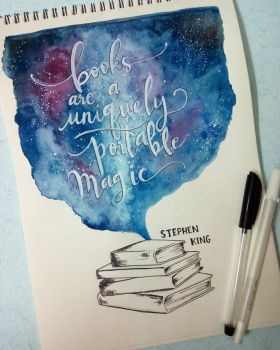 Bookish Quote#1 by Art-Ablaze