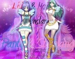Anarchy Lilith and Morrigan by PPGDBlossom