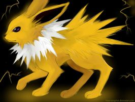 jolteon by bluerattophat