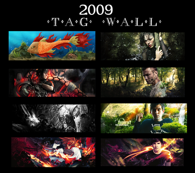 2009 Tag wall by ExpiraTgFk
