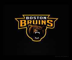 Boston Bruins Concept Logo by matthiason