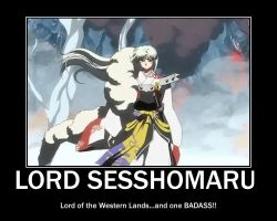 Sesshomaru = Badass by Inukee