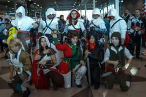 Assassin's Creed 3 Group Redcoat Cosplay NYCC by NeedtoDestroy