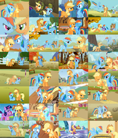 AppleDash Collage by ThePoneSenpai