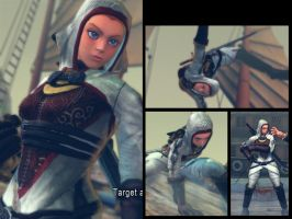 PROJECT: CAMMY AS ASSASSINS CREED (SSFIV) by Ayiep27