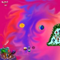 Psychedelic Candy Sky by mushroomGOD121