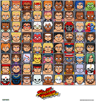 Street Fighter tribute by DanOcean