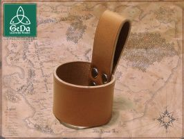Leather Belt Loop Holster 1 by GeDaLeather