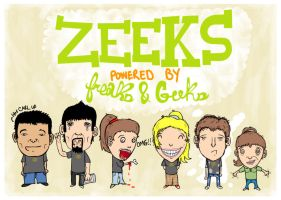 Zeeks Pizzas Freaks and Geeks by punkrockDAN
