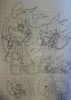 ~+Arrow and Koshi .:RP doodles:.+~ by Tailscream