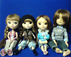 Pullip Family Colour by sugar-noor