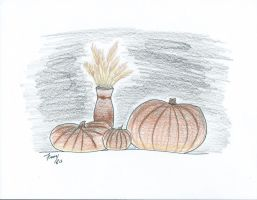 Pumpkins (Day 18) by kaileyTmarie