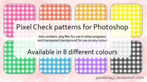 Pixel Check Patterns for PS by Pandora42
