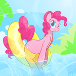 Pinkie Float by B-Epon