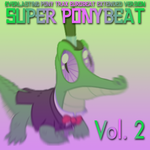 Super Ponybeat Vol.2 Album Art by eurobeatBrony