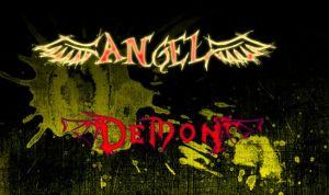 Angel Demon font test by kai-pachi