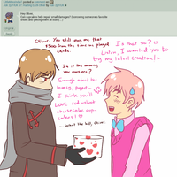 Ask 2p FrUK 60: Forgiveness with Cupcakes by Ask-2pFrUK