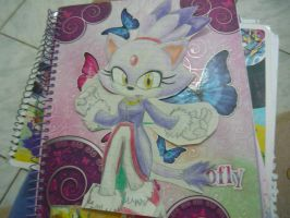 Blaze the Cat :3 by heitor-jedi