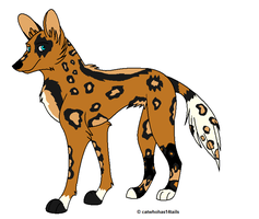 African Wild Dog 35 points by xXxCorpseAdoptsxXx