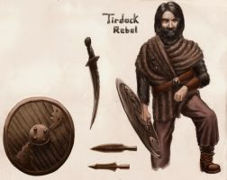 Tirdock Rebel Captain by grimdrifter