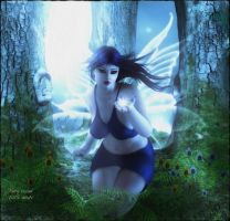 4-22-15 Fairy Woods by cocoaberi