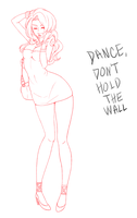 Please Don't Hold The Wall by MagicaRin
