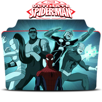 Ultimate Spider Man Icon Folder by Mohandor