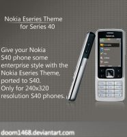 Nokia Eseries Theme for S40 by ChocSoldier