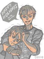 Jingle bells, Eren smells by Cenivo