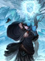 Boreas The Frost Mage by rzanchetin