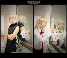 death note : mirror fun by kim-tram