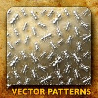 Vector Patterns. Workin' ants by paradox-cafe