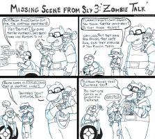 Sly 3 missing scenes (Zombie Talk) by brensey