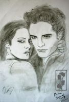 EDWARD AND BELLA from Twilight by grayfox78