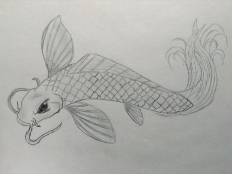 Koi Fish by AgonizingSwordfish