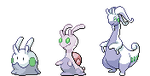 goomy sliggoo Goodra Sprite by Noscium