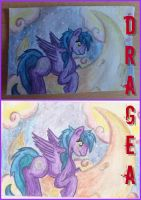 ACEO - Dragea by SoulEevee99