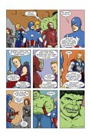 The Avengers movie tribute by pjperez