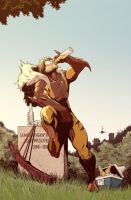 Sabretooth. To the fallen. by rodavlasalvador