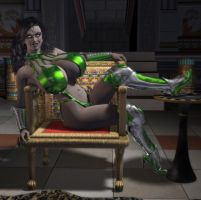 Cardassian Pinup by willdial