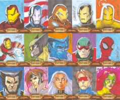 Iron Man 2 Sketch Cards 03 by RyanOdagawa