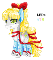 Powerpuff Custom for Miss-Dew-Drop by mlpdarksparx