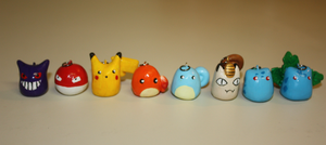 Pokemon Charms by ScribblesLover
