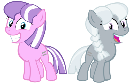 Equalized Diamond Tiara  and Silver Spoon by kuren247