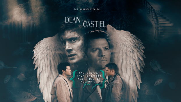 Destiel - For You by albabolditalic