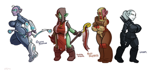 Koblins Round 1 by LeftHand-Black