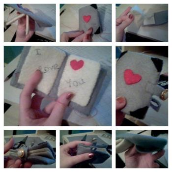 Sewn up Book by CoralConstellation